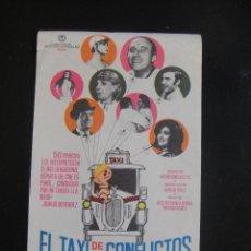 Cine: EL TAXI DE LOS CONFLICTOS - SIN PUBLICIDAD. Lote 134068822