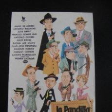 Cine: LA PANDILLA DE LOS 11 - SIN PUBLICIDAD. Lote 134068994
