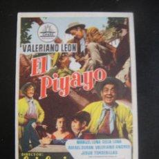 Cine: EL PIYAYO - CINE COSO - ZARAGOZA. Lote 134069146