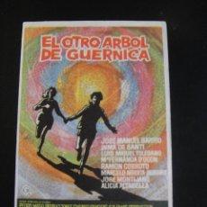 Cine: EL OTRO ARBOL DE GUERNICA - SIN PUBLICIDAD. Lote 134069318