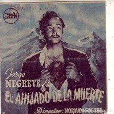 Cine: EL AHIJADO DE LA MUERTE. Lote 134160722