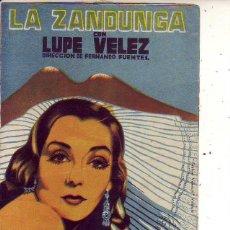 Cine: LA ZANDUNGA. Lote 134160962