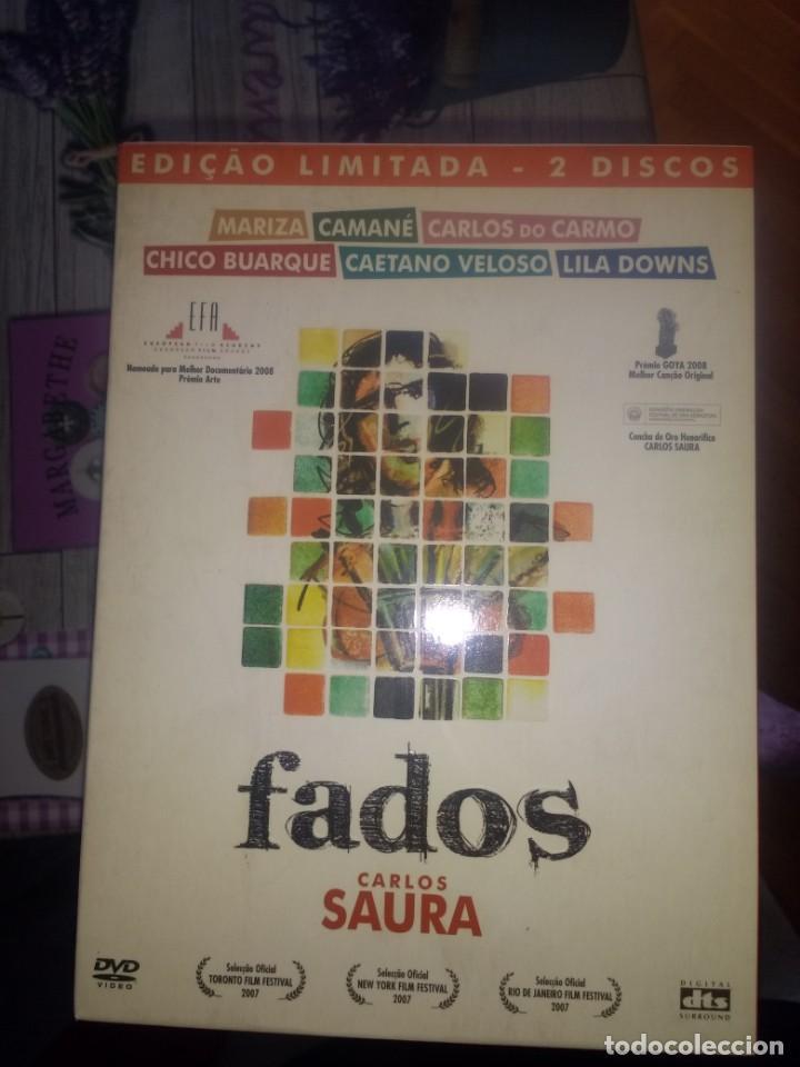 FADOS CARLOS SAURA VERSION ORIGINAL LIMITADA 2 DISCOS + LIBRO (Cine - Folletos de Mano - Documentales)