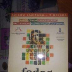 Cine: FADOS CARLOS SAURA VERSION ORIGINAL LIMITADA 2 DISCOS + LIBRO. Lote 134239226
