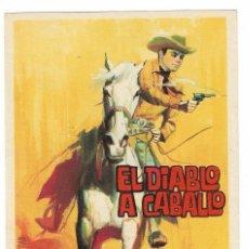 Cine: EL DIABLO A CABALLO ( SIN PUBLICIDAD ). Lote 134313702