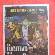 Cine: EL FUGITIVO DEL TREN DE BERLIN, IMPECABLE SENCILLO, JOSE FERRER SEAN FLYNN, C/PUBLI KURSAAL 1966. Lote 134315418