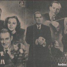 Cine: HONOR DE FAMILIA - PROGRAMA DOBLE MGM CON PUBLICIDAD RF-1696. Lote 134375746