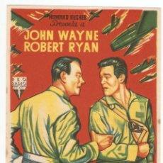 Cine: INFIERNO EN LAS NUBES - JOHN WAYNE, ROBERT RYAN - DIRECTOR NICHOLAS RAY - RKO RADIO FILMS. Lote 134416374