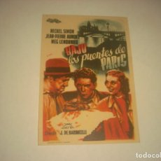 Cine: BAJO LOS PUENTES DE PARIS, SIN PUBLICIDAD.. Lote 134763210