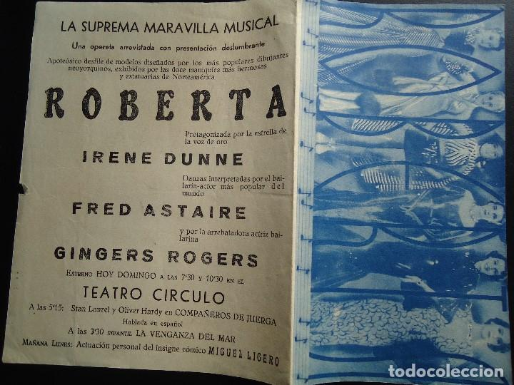 Cine: ROBERTA, DOBLE GRANDE 1936 IRENE DUNNE FRED ASTAIRE GINGER ROGERS - Foto 2 - 135019578