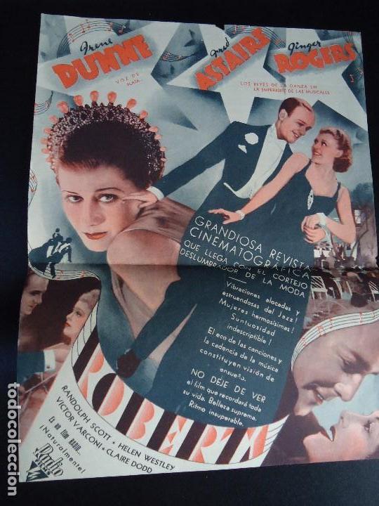 Cine: ROBERTA, DOBLE GRANDE 1936 IRENE DUNNE FRED ASTAIRE GINGER ROGERS - Foto 3 - 135019578
