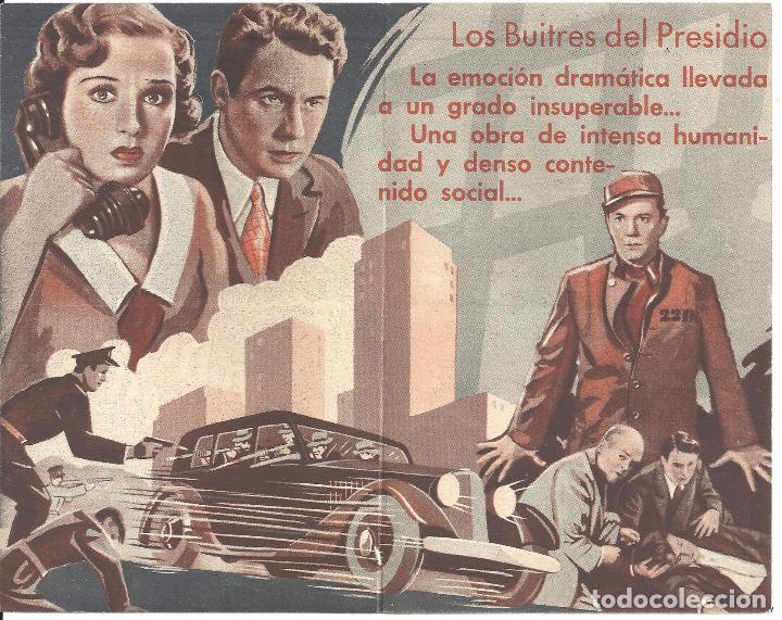 Cine: PTEB 021 LOS BUITRES DEL PRESIDIO PROGRAMA DOBLE UNIVERSAL NOAH BEERY JR. ANTHONY QUINN - Foto 2 - 135084922