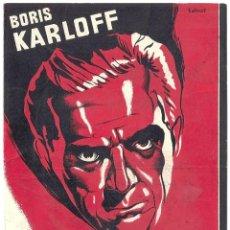 Cine: PTCC 022 EL HOMBRE QUE TROCO SU MENTE PROGRAMA DOBLE BRITISH GAUMONT BORIS KARLOFF. Lote 135125566