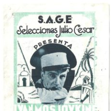 Cine: PTEB 024 EL SARGENTO X PROGRAMA DOBLE SAGE IVAN MOSJOUKINE SUZY VERNON LEGION. Lote 135231594