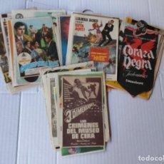 Cine: 100 PROGRAMAS DE MANO – DIFERENTES NINGUNO REPETIDO (A LOTES ANTERIORES) – AÑOS 40, 50 Y 60 - BUEN E. Lote 135256626