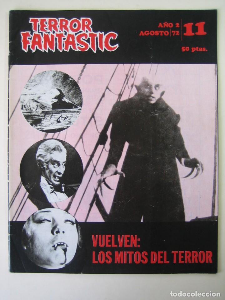 TERROR FANTASTIC (1971, PEDRO YOLDI) 11 · VIII-1972 · TERROR FANTASTIC (Cine - Folletos de Mano - Terror)