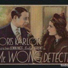 Cine: MR.WONG, DETECTIVE. PROGRAMA SENCILLO SIN PUBLICIDAD.. Lote 135359622