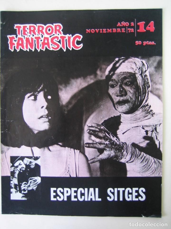 TERROR FANTASTIC (1971, PEDRO YOLDI) 14 · XI-1972 · TERROR FANTASTIC (Cine - Folletos de Mano - Terror)