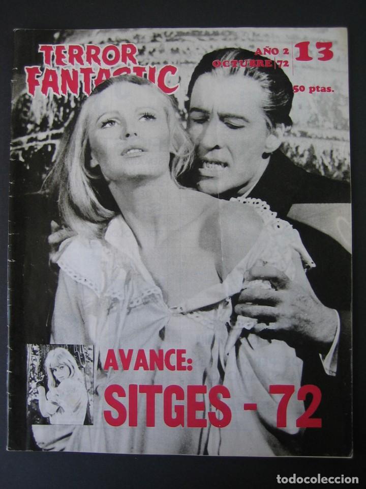 TERROR FANTASTIC (1971, PEDRO YOLDI) 13 · X-1972 · TERROR FANTASTIC (Cine - Folletos de Mano - Terror)
