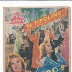 Cine: UN MARIDO A PRECIO FIJO CON LINA YEGROS, RAFAEL DURÁN EL TIPOLINO . Lote 135399438