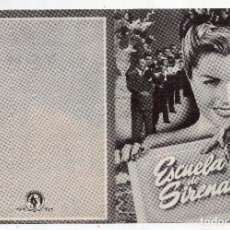 Cine: ESCUELA DE SIRENAS. RED SKELTON, ESTHER WILLIAMS, BASIL RATBONE, BILL GOODWIN.... Lote 135630411
