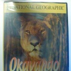 Cine: OKAVANGO. EL OASIS AFRICANO. DVD NATIONAL GEOGRAPHIC. PRECINTADO.. Lote 135681551