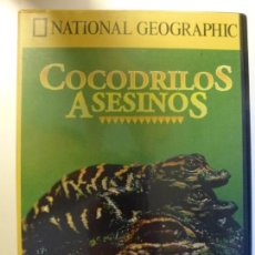 Cine: COCODRILOS ASESINOS. DVD NATIONAL GEOGRAPHIC.. Lote 135681995