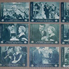 Cine: PTCC 023 LA VIUDA ROMANTICA SET 10 PROGRAMAS TARJETA FOX CATALINA BARCENA RAOUL ROULIEN. Lote 135685779