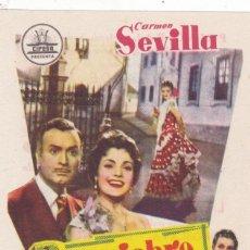 Cine: REQUIEBRO CON CARMEN SEVILLA, ÁNGEL MAGAÑA EN CINEMAS PRINCIPAL Y LA RAMBLA. Lote 135749698