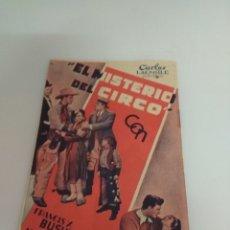 Cine: EL MISTERIO DEL CIRCO. Lote 136177577