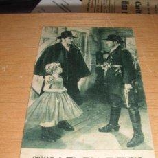 Cine: REBELDE SHIRLEY TEMPLE 20TH CENTURY FOX CINE VICTORIA LLEIDA CA. 1936. Lote 136346266