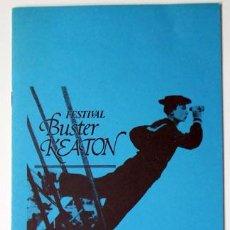 Cine: CINE Y FESTIVAL BÚSTER KEATON 16 PAGINAS 1989, CAJA AHORROS PROVINCIAL ALICANTE. Lote 136466698