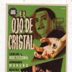 Cine: EL OJO DE CRISTAL. CARLOS MOCTEZUMA, ARMANDO MORENO, BEATRIZ AGUIRRE.... Lote 136709054