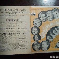 Cine: VAMPIRESAS DE 1933. Lote 137158958