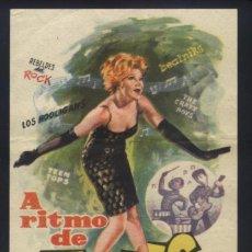 Cine: P-2786- A RITMO DE TWIST (MANUEL LOCO VALDÉS - ROBERTO RAMÍREZ GARZA - MARÍA EUGENIA RUBIO). Lote 137177842