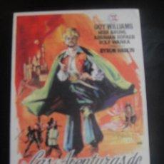 Cine: LAS AVENTURAS DE SIMBAD - CINE CAPITOL , TARRAGONA. Lote 137187274