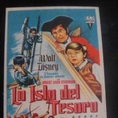 Cine: LA ISLA DEL TESORO - CINE COSO , ZARAGOZA. Lote 137187334