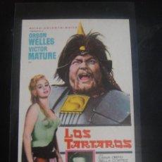 Cine: LOS TARTAROS - SIN PUBLICIDAD. Lote 137195762
