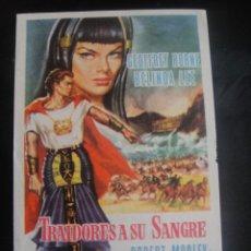 Cine: TRAIDORES A SU SANGRE - CINES MONTECARLO NIZA ARISTOS - BARCELONA. Lote 137196866