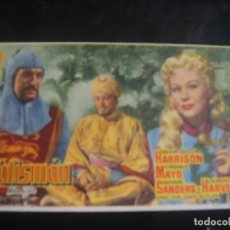 Cine: EL TALISMAN - CINE PALAFOX , ZARAGOZA. Lote 137197346