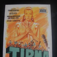 Cine: TIRMA - CINE COLISEO , ZARAGOZA. Lote 137197434
