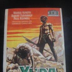 Cine: YEDA - CINE HERMANDAD ARTURO MUNDET , SAN ANTONIO DE CALONGE. Lote 137198258