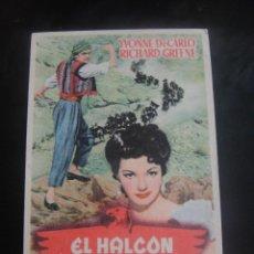 Cine: EL HALCON DEL DESIERTO - CINE CONTINENTAL , LOS DOLORES - MURCIA. Lote 137200090
