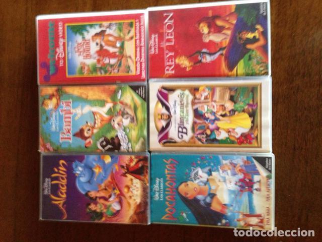 PELÍCULAS DISNEY VHS (Cine - Folletos de Mano - Infantil)