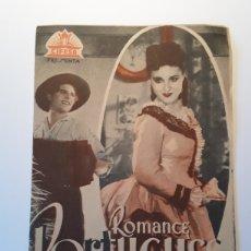 Cine: ROMANCE PORTUGUES. Lote 137382425