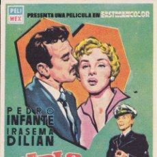 Cine: PABLO Y CAROLINA CON PEDRO INFANTE, IRASEMA DILIAN AÑO 1958 EN CINEMAS PRINCIPAL Y LA RAMBLA. Lote 137382546