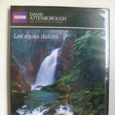 Cine: LAS AGUAS DULCES. DAVID ATTENBOROUGH. DVD SLIM PRECINTADO. BBC. COLECCIÓN EL PAÍS. . Lote 137604354