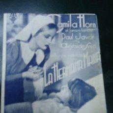 Cine: LA HERMANA MARIA 1937 CAMILA HORN PAUL JAVOR ALEXANDER SUED PUBLI CINE ESPAÑA LUGO. Lote 137768294