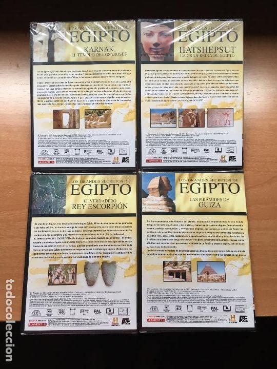 Cine: Pack 4 DVDs Egipto (Precintados) Momia Reina Harshepsut Rey Escorpión Piramides Guiza - Foto 2 - 137969858