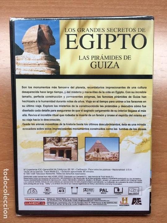 Cine: Pack 4 DVDs Egipto (Precintados) Momia Reina Harshepsut Rey Escorpión Piramides Guiza - Foto 4 - 137969858